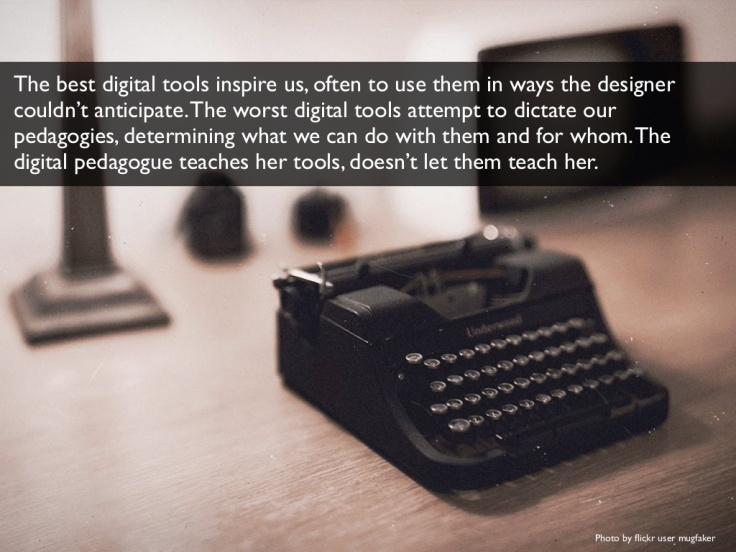 digital pedagogies